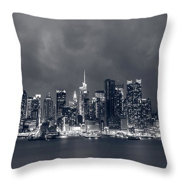 Light Will Drive Out Darkness Throw Pillow