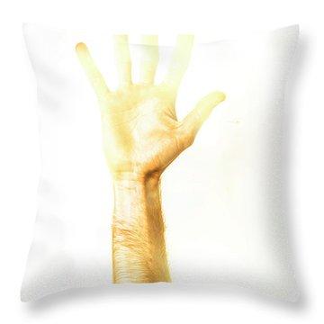 Light Worker Outreach Throw Pillow