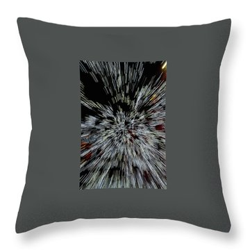Light Zoom 1 Throw Pillow