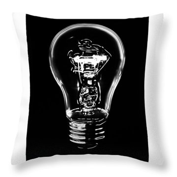 Lightbulb Throw Pillow