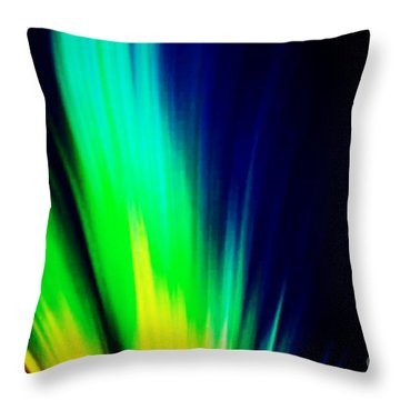 Lightburst Throw Pillow