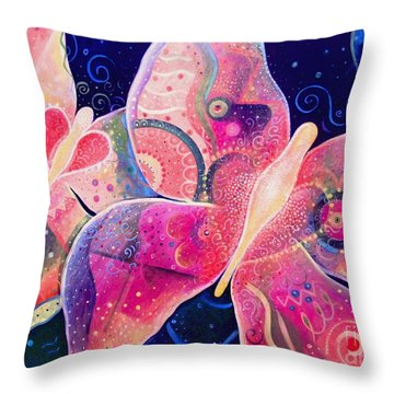 Lighthearted In Full Spectrum Throw Pillow