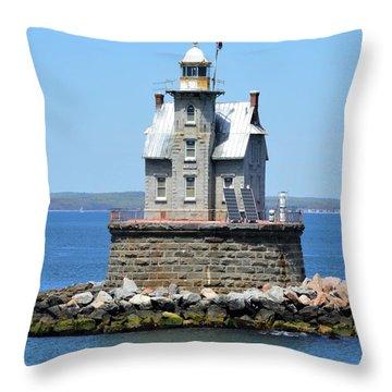 Lighthouse 2-c Throw Pillow