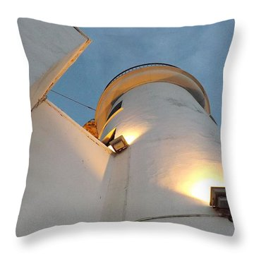 Scarborough Lighthouse Throw Pillow