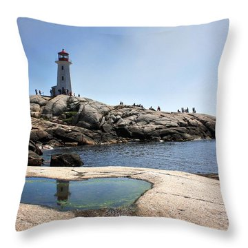 Lighthouse Lighthouse Throw Pillow