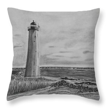 Lighthouse Point Throw Pillow
