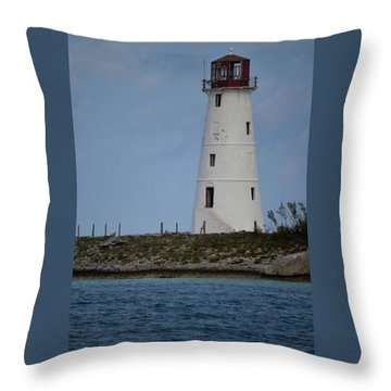 Lighthouse Watch Throw Pillow