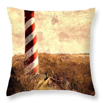 Lighthouse Westerlichttoren Throw Pillow