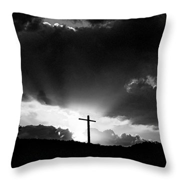 Lighting Faith Throw Pillow