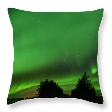 Lighting The Way Home Throw Pillow