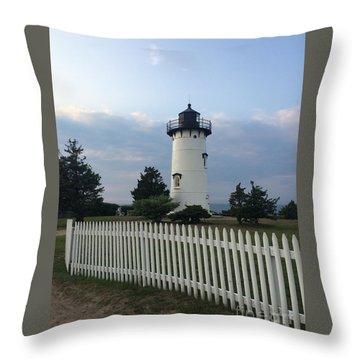 Lighting Up Martha's Vineyard Throw Pillow