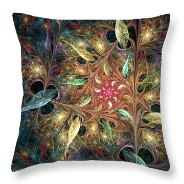 Lightness Of Being Throw Pillow by Kim Redd