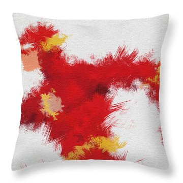 Lightning Speed Throw Pillow