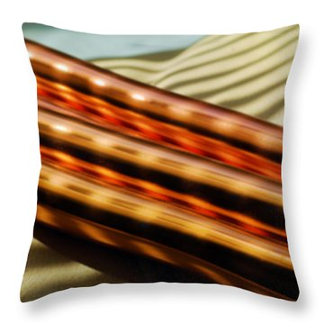 Lights And Shadows Throw Pillow