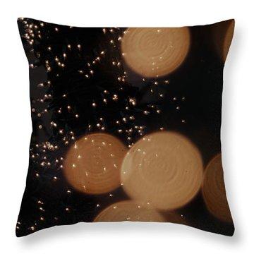 Lights Lights Lights Throw Pillow by Henri Irizarri