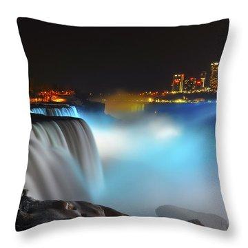 Lightshow 2 Throw Pillow