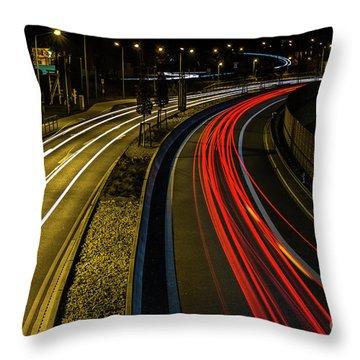 Lightstreams In Schwaebisch Gmuend Throw Pillow