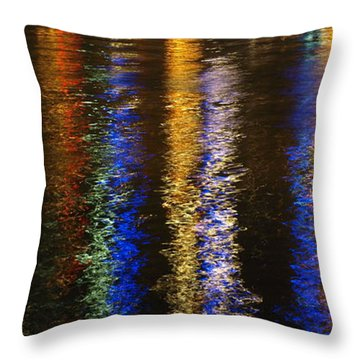 Lightup Pgh Throw Pillow
