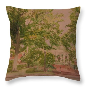 Ligonier Pa Gazebo 2 Throw Pillow