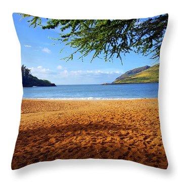 Lihue  Throw Pillow