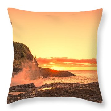 Lihu'e Sunrise Throw Pillow