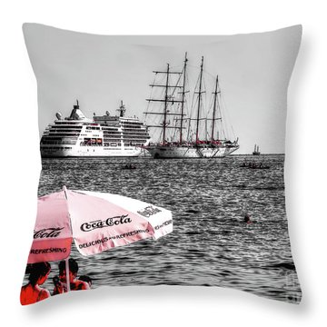 Like A Advert This One Throw Pillow