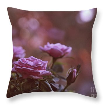 Like A Fine Rosie Of Pastels Throw Pillow