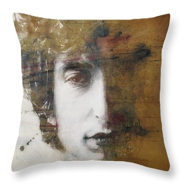 Like A Rolling Stone  Throw Pillow