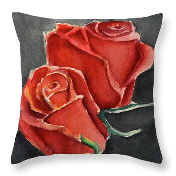 Like A Rose Throw Pillow