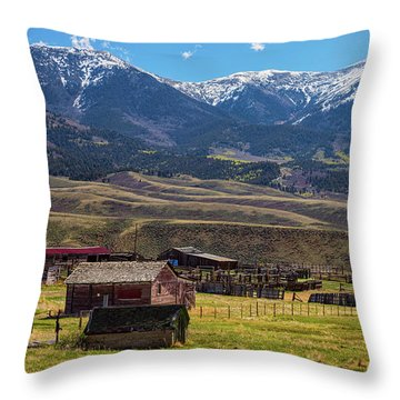Like An Old Western Movie Throw Pillow by James BO Insogna