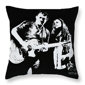 Like Johnny And June Throw Pillow by Alys Caviness-Gober