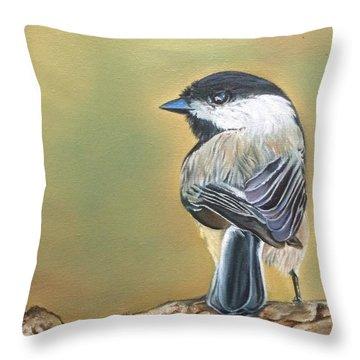 'like My Tail' Throw Pillow
