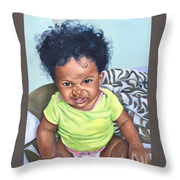 Lil Suga Momma Throw Pillow