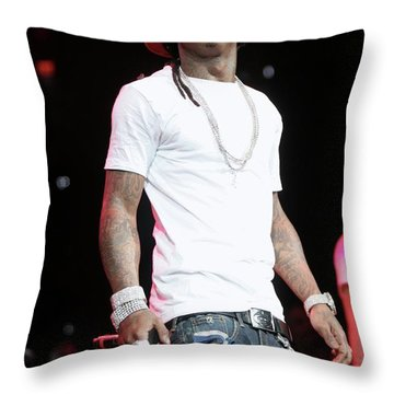 Lil Wayne Throw Pillows