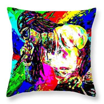 Lil Wayne Throw Pillows