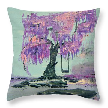 Lilac Dreams- Prince Throw Pillow