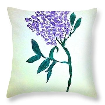 Lilac Throw Pillow