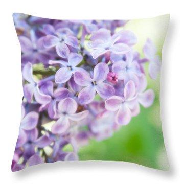 Lilacs 2 Throw Pillow