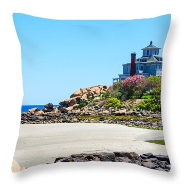 Lilacs In Bloom Throw Pillow