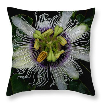 Lilikoi Passion Fruit Throw Pillow