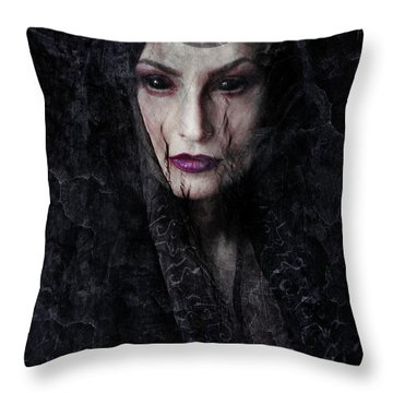Darkness Throw Pillows
