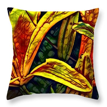 Lilly Fire Throw Pillow