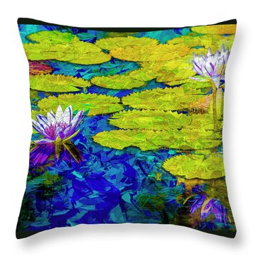 Throw Pillow featuring the photograph Lilly by Paul Wear