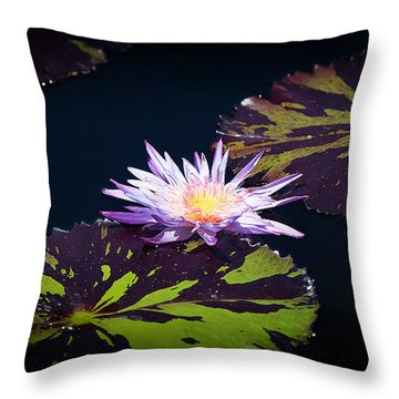 Lily Artistry Throw Pillow