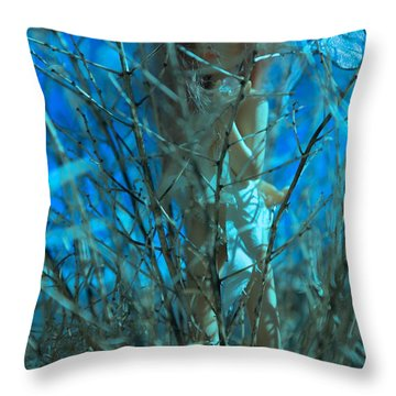 Lily Came Back Throw Pillow
