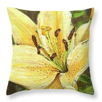 Lily Dream Throw Pillow