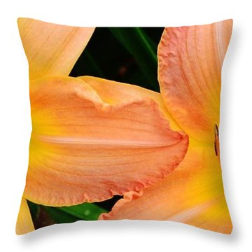 Lily Duo Throw Pillow