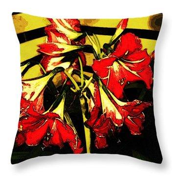 Lily Gem Throw Pillow