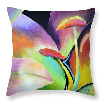 Lily Too Throw Pillow