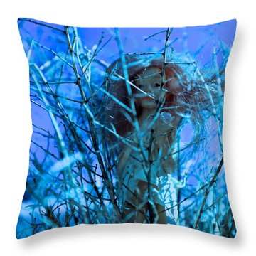 Lily Is Braver Throw Pillow